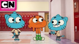 The Amazing World of Gumball | Clayton Shapeshifts into Gumball | Cartoon Network