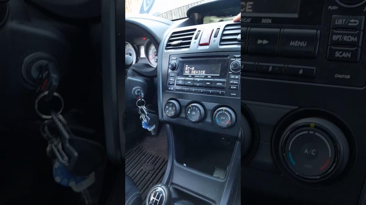 2012 Subaru Impreza fan blower buzzing noise