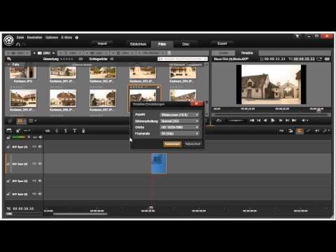 Timeline Einstellungen in Pinnacle Studio 16 und 17 Video 38 von 114