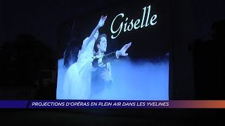 Yvelines | Projection d'un opéra en plein air à Mantes-la-Jolie