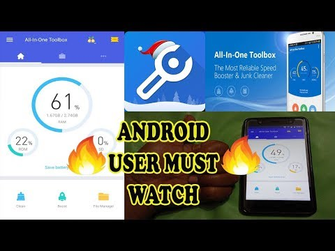 Best Android Cleaner Review - ALL IN ONE TOOLBOX