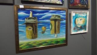 Необычная выставка картин в Минске