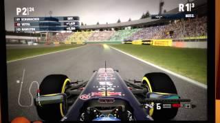 F1 2012 schnelles Rennen auf MacBook Pro 15 Zoll Retina Display (volle Auflösung) [GERMAN Full HD]