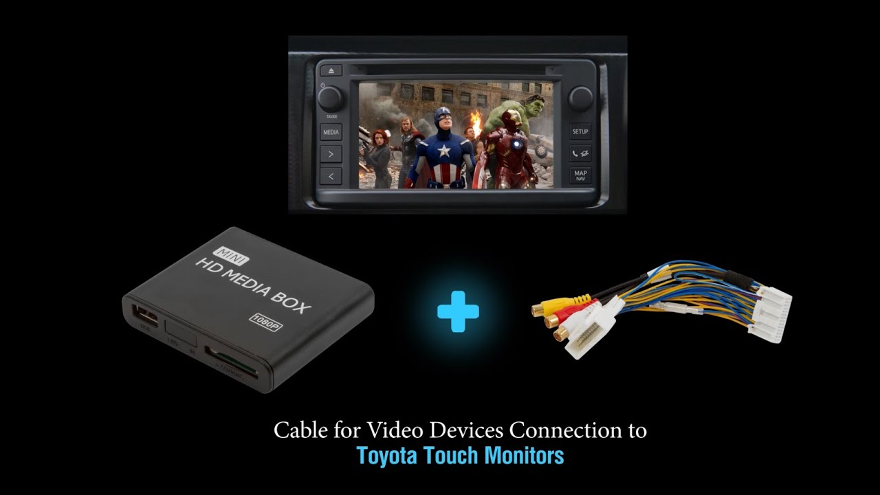 how to connect video and camera in toyota  subaru  scion