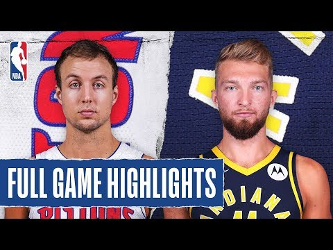 PISTONS at PACERS | FULL GAME HIGHLIGHTS | November 8, 2019 1