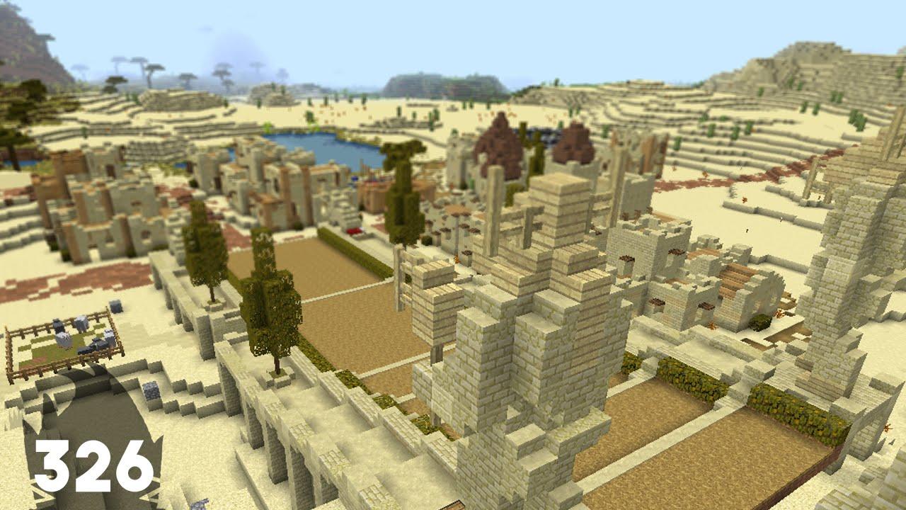 Minecraft Sandstone Builds