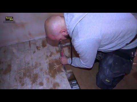 Tommy's Yard How to repair floor boards