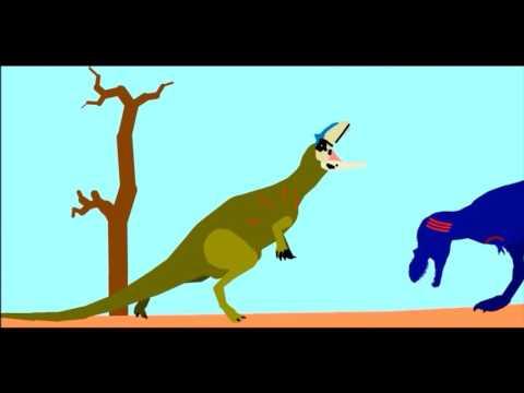 Albertosaurus vs Allosaurus
