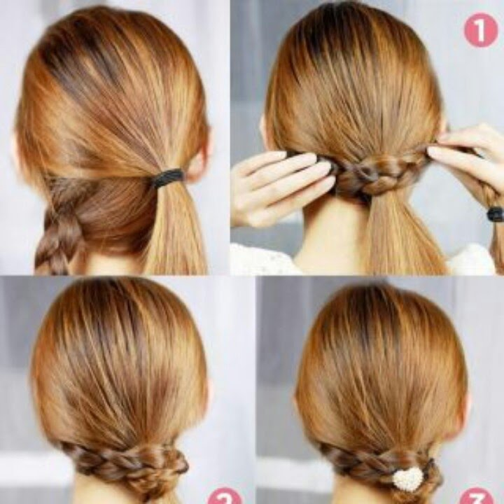 6 Cute And Easy Ponytails Youtube