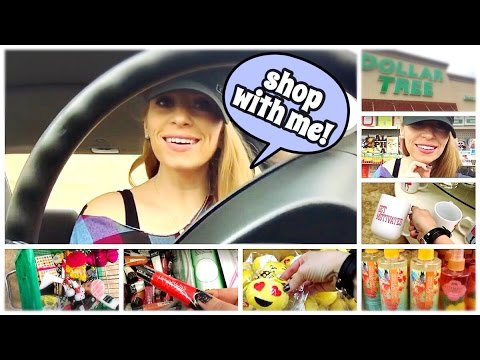 SHOP WITH ME! Follow Me Around The Dollar Tree! fabb TV
