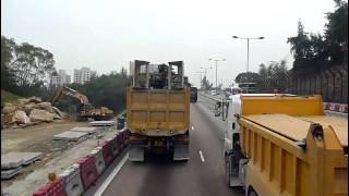 Repeat youtube video [Hong Kong Bus Ride] 九巴 AP81 @ 58M 往 良景邨 [全程行車影片]