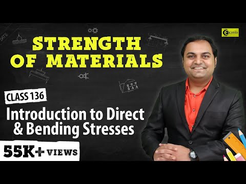 What is Concept of Direct and Bending stresses.