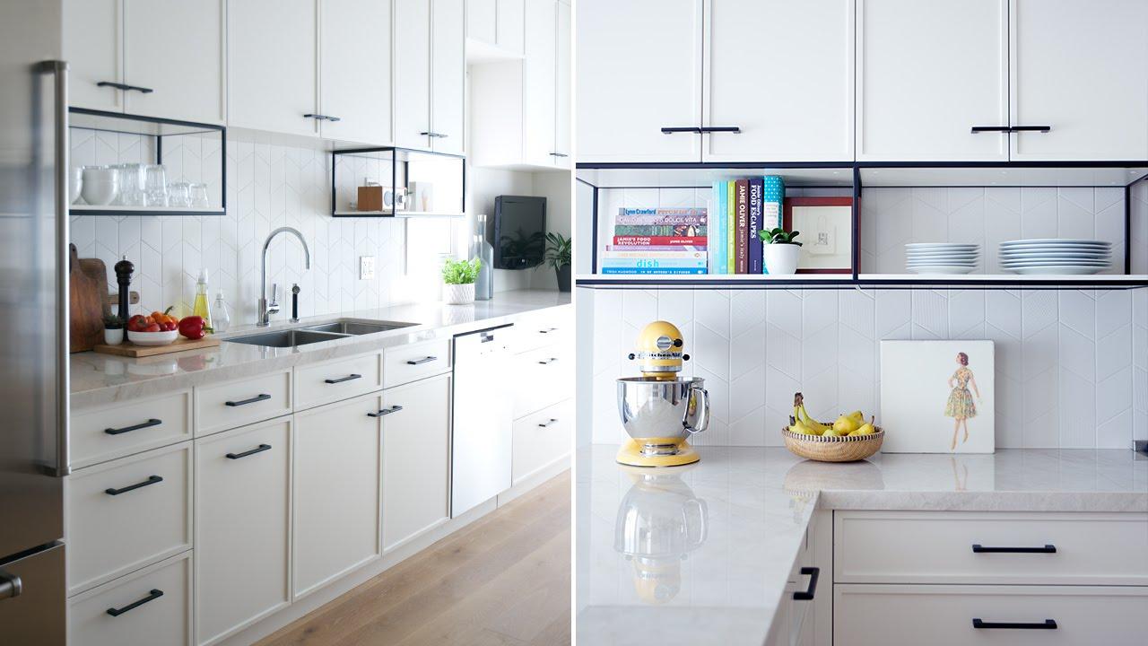 Modern White Kitchen Pics: This Modern White Kitchen Has A