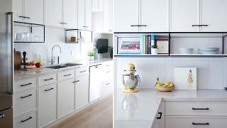Interior Design – This Modern White Kitchen Has A Surprising Detail