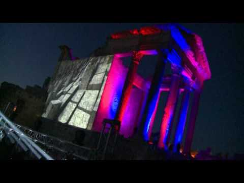 Preview 2 : #MAPPING - Dougga Fest : Sound Of Stones - Tunisia 29 Avril 2017