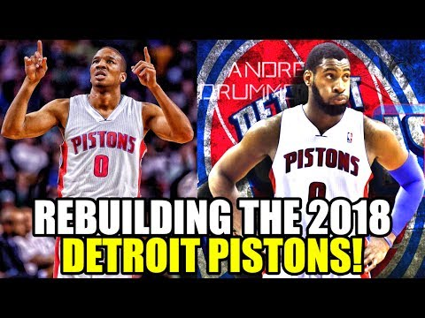 REBUILDING THE 2018 DETROIT PISTONS! THIS HAS NEVER HAPPENED BEFORE! NBA 2K17 MY LEAGUE