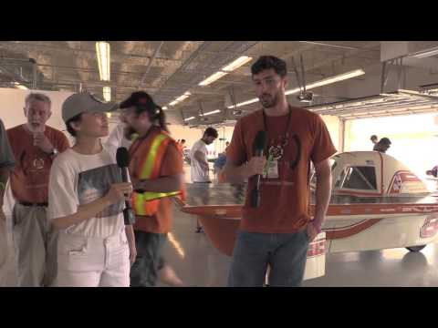 University of Texas at Austin Solar Vehicle Team at FSGP (Formula Sun Grand Prix) 2015
