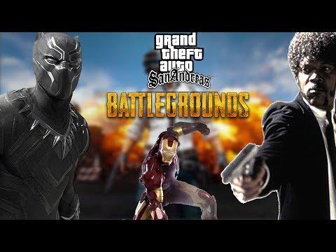 GTA Multiplayer Battlegrounds (MTA)    Şarjsız Iron Man, Kıbrıs'lı Black Panther Ve Hırbo Jackson