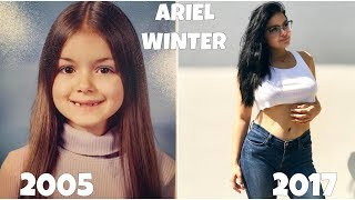 Ariel Winter From Kid To Adult