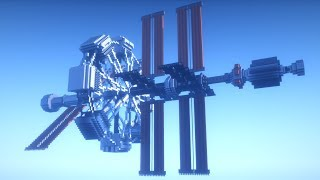 Minecraft Timelapse | Space Station!!