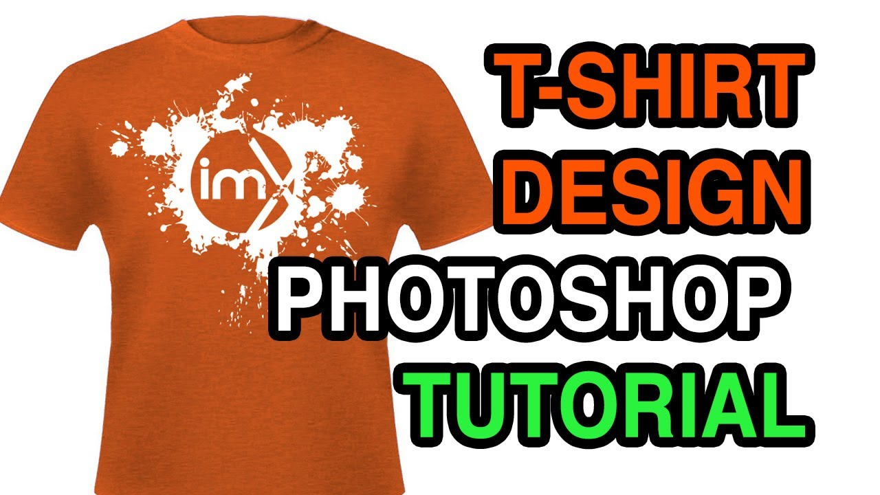 e36832645 How to Design a T-shirt in Photoshop with Negative Images ...