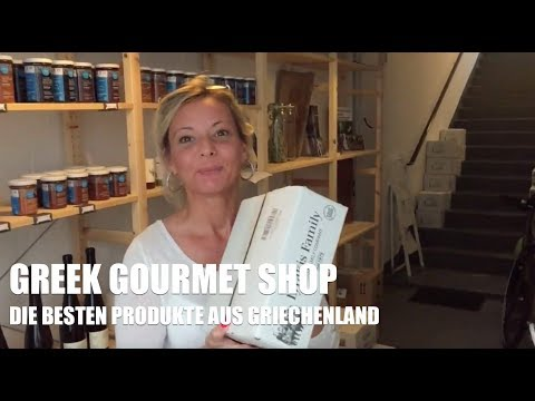 GREEK GOURMET SHOP - NEUE PRODUKTE SIND AM START
