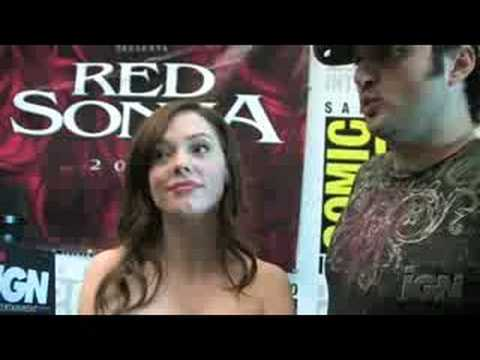 SDCC 08: Red Sonja Video Interviews