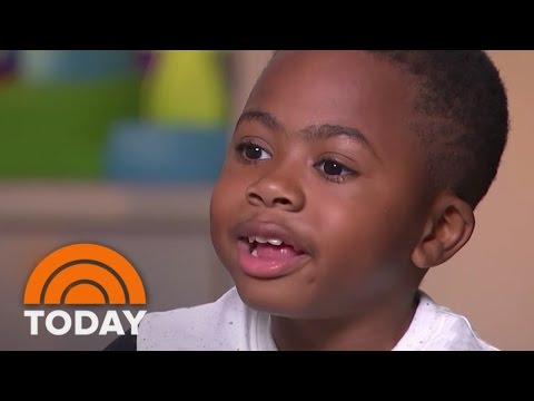 Meet Zion Harvey, The First Child To Get A Double Hand Transplant, 1 Year Later | TODAY