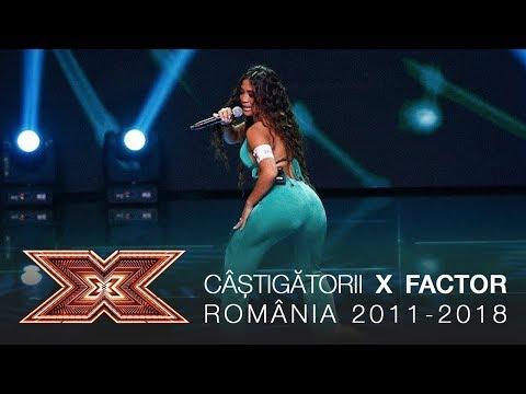 Câștigătorii X FACTOR România (2011 - 2018) - colaj de melodii