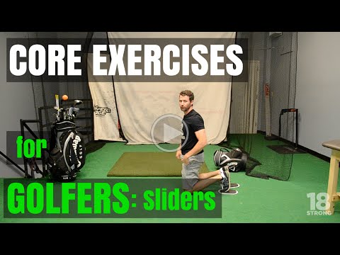 Core Exercises For Golfers: Sliders