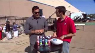 Michael Hoomanawanui stays hydrated with O.N.E. Coconut Water and O.N.E. Active
