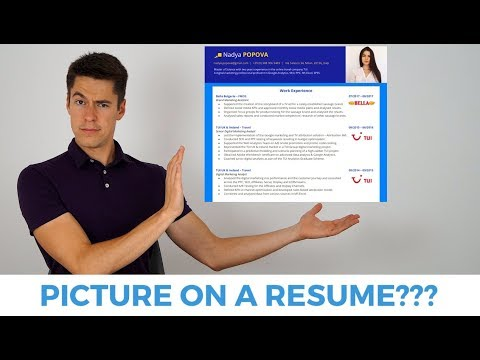 Should You Have a Picture on Your CV/Resume?