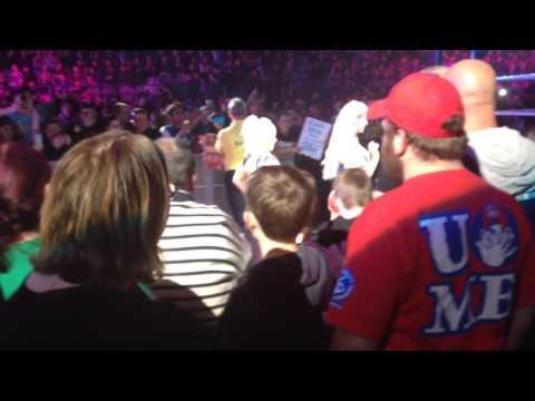 Sasha Banks and Charlotte w/ Dana Brooke entrance - WWE Live Melbourne 2016