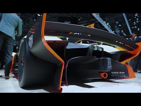 Aston Martin Lagonda Vision Concept + Valkyrie AMR Pro   Geneva Motor Show 2018   Top Gear