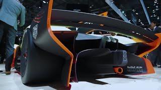 Aston Martin Lagonda Vision Concept + Valkyrie AMR Pro | Geneva Motor Show 2018 | Top Gear