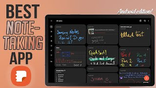 Samsung Notes Review: Tab S6   The most Complete Note Taking app!!