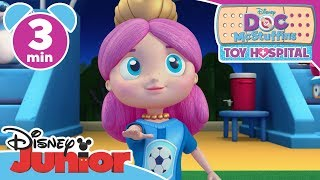 Doc McStuffins | Melinda The Mermaid Plays Foosball ⚽️- Magical Moment | Disney Junior UK