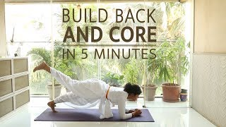 Build Back and Core in 5 minutes