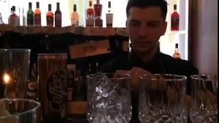 Коктейль Кофе Кола и вишневый ликер