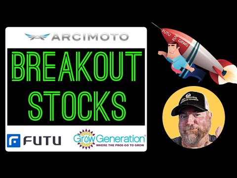 Stocks That Are Breaking Out and Will Continue to Breakout! FUV | GRWG | FUTU