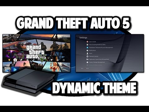 [PS4 THEMES] Grand Theft Auto 5 Dynamic Theme Video In 60FPS