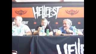 Faith No More Press Meeting At Hellfest 2015 : Jim Martin and considerations about musical business