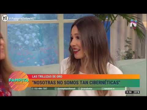 Pampita Online 04/04/2019 - Trillizas De Oro