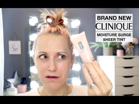 CLINIQUE Moisture Surge Sheer Tint Hydrator Review thumbnail