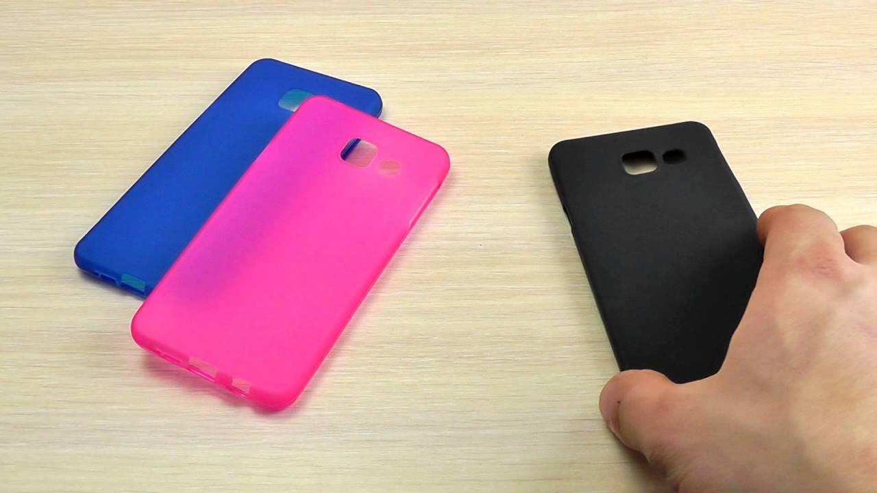 Кожаный чехол-книжка Valenta для телефона Samsung Galaxy A3 - YouTube