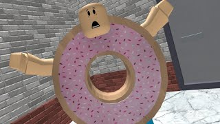 Roblox ? ESCAPE EL EVIL BAKERY!! | TRANSFORMADOR DONUT!!