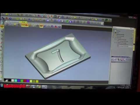 Создание управляющей программы в ArtCam для фрезерного ЧПУ станка