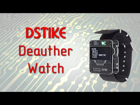 Деаутентификатор Wi-Fi DSTIKE Deauther Watch