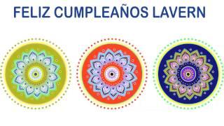 Lavern   Indian Designs - Happy Birthday