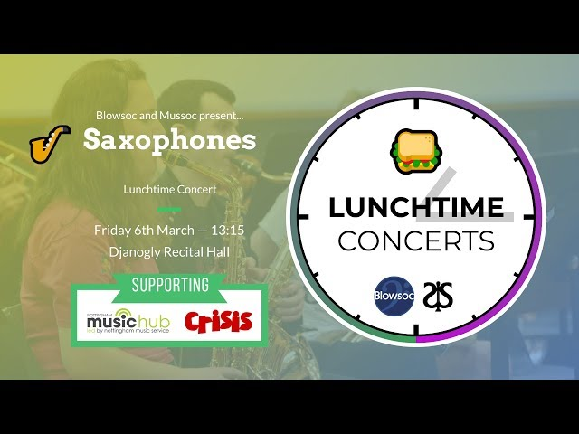 🎷 Saxophones LTC (Spring 2020)